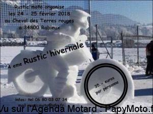 4e Rustic'Hivernale - Rustic Moto - Rabieux (34) @ Cheval des Terres Rouges | Ceyras | Occitanie | France