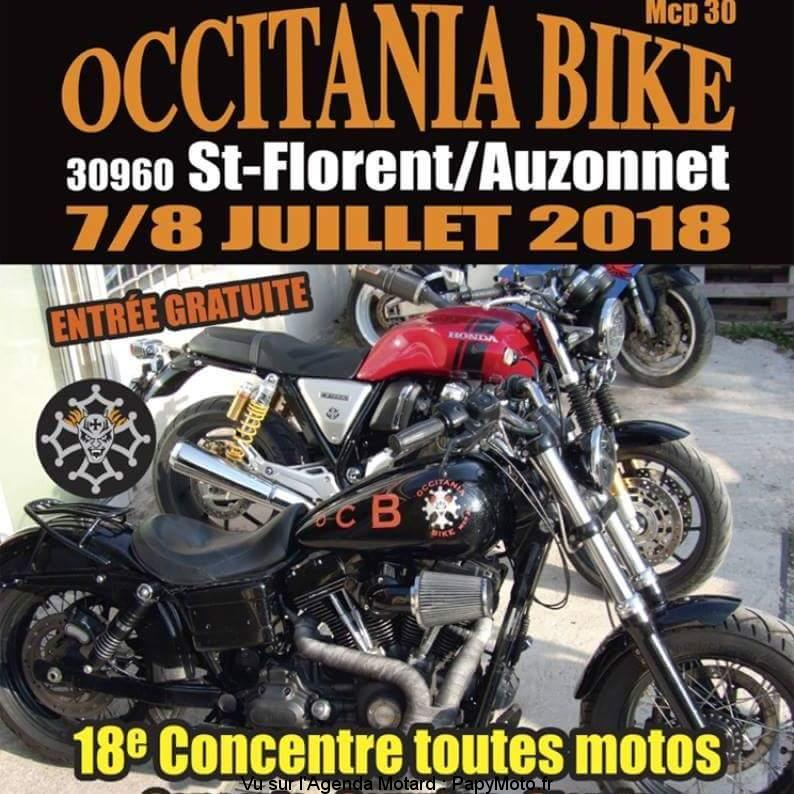 18e Concentre toutes motos - Occitania Bike - Saint Florent sur Auzonnet (30) @ Saint Florent sur Auzonnet (30) | Saint-Florent-sur-Auzonnet | Occitanie | France