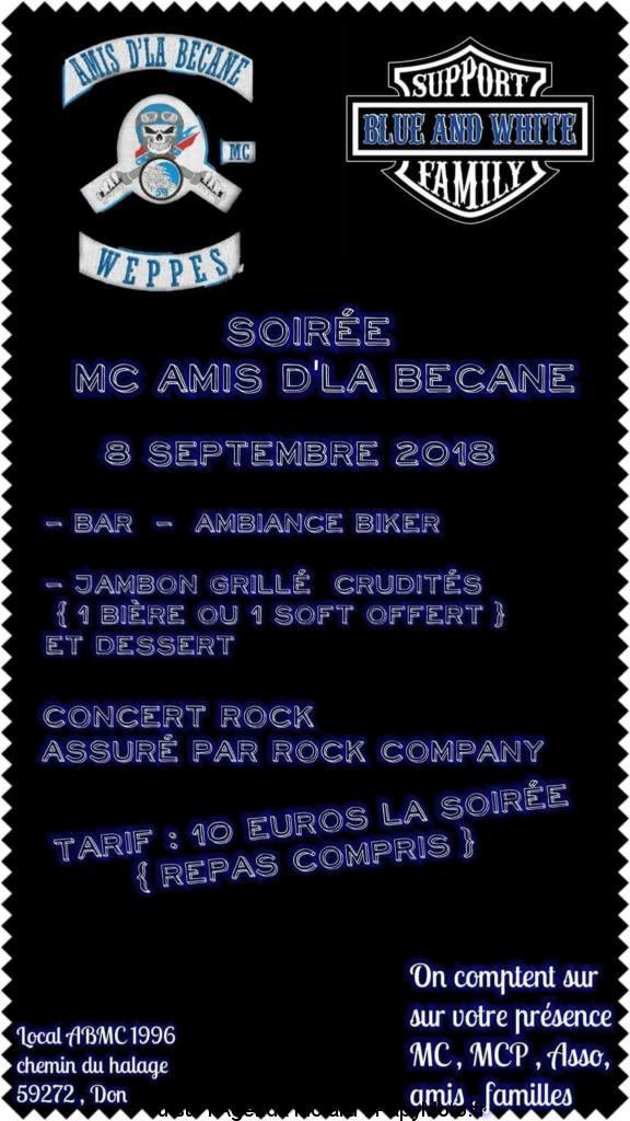 Soirée MC Amis d'la Bécane - Don (59) @ Chemin du Halage | Don | Hauts-de-France | France